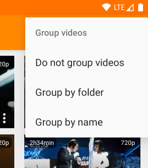 Video grouping